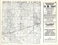 Prairie, Carthage T5N-R7W, Hancock County 1963
